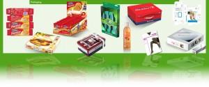 Disegno pack food farmaceutico moda oggetti